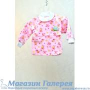 Розовая кофта для новорожденного - Яник