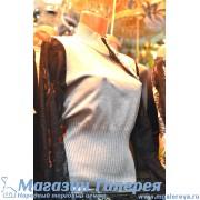 Кофта женская с кружевными рукавами
