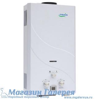 Водонагреватель проточный газовый Оазис, 16 кВт (б)