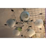 Люстра 12120/5 хром с обычными лампами Е27