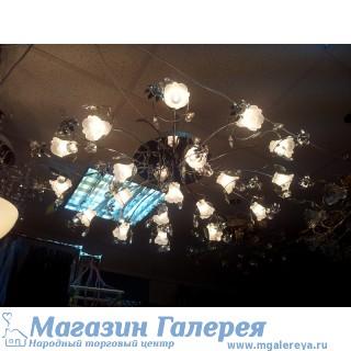 Люстра с галогенные лампы хром с пультом 3079/19
