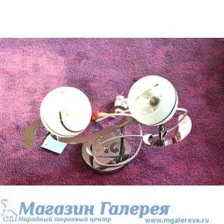 Недорогая серебристая люстра 4132/2