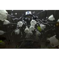 Люстра 5228/18 CR RC хром с пультом