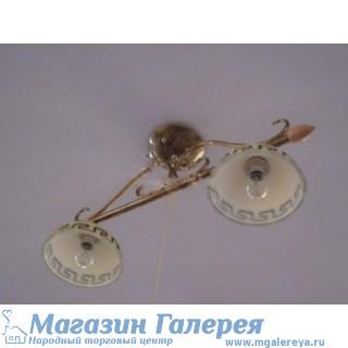 Греческая люстра на два рожка 90265/2