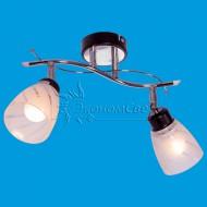 Люстра для кухни 01611/2 CR+ВК венге