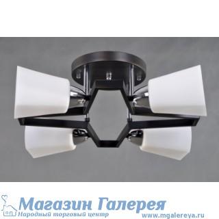 Люстра - 36006/4 CR+WENGE