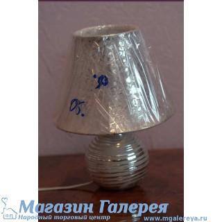 Лампа настольная керамическая, шар. TopLight. Под золото.  08 HS