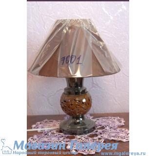 Лампа настольная керамическая. TopLight. Коричневая.  7001 МТ
