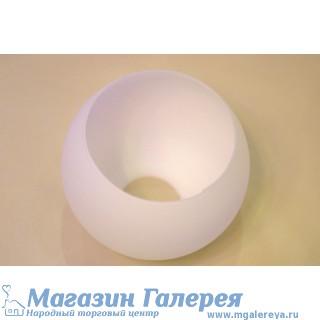 Плафон для люстры белый. Под обычные лампы.