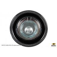 Точечный светильник 1025/E1 MR16 BK+CR