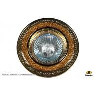 Точечный светильник 1025/E1 MR16 SG+GD