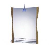 Зеркало для ванной FRAP F-611 с полочкой