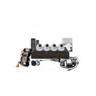 Видеонаблюдение 4 камеры FE-004H-KIT(Дом+) с диском 500Gb