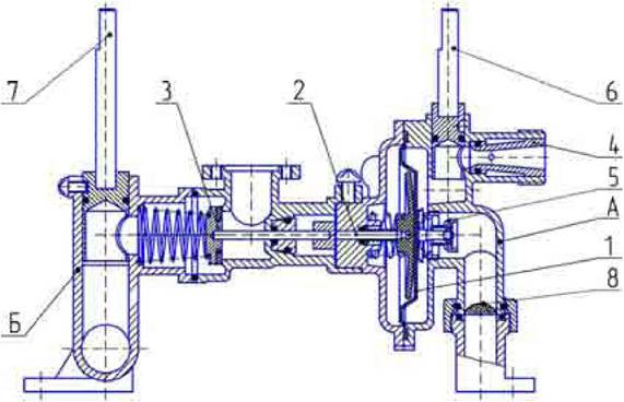 Рисунок 2 Блок водогазовый