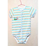 Боди голубое для новорожденного