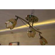 Люстра 1260/3 под бронзу с тремя лампами
