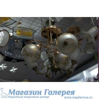 Люстра 8001/3 CR WT  люстра с обычными лампами Е27