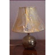 Лампа настольная керамическая, шар. TopLight. Под золото.  25 HS