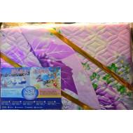 Комплект постельного белья Зима лето - фиолетовый
