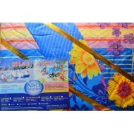 Комплект постельного белья Зима лето - синий