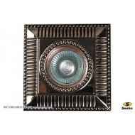 Точечный светильник 007/URS MR16 GD+BK