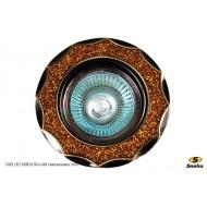 Точечный светильник 1001/E1 MR16 SG+АВ