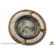 Точечный светильник 1019/E1 MR16 WT+GD