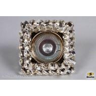 Точечный светильник 706/СТ MR16 GD/CL