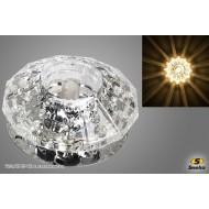 Точечный светильник 7192/Н G9 CR